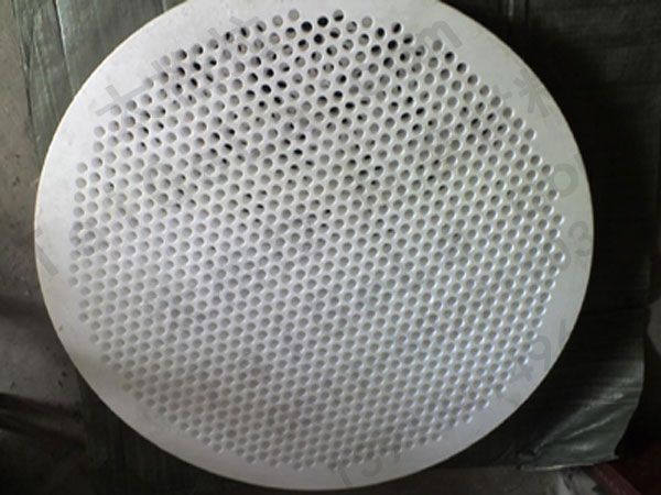 PTFE零件滤板按图加工铁氟龙塑料王板材棒材