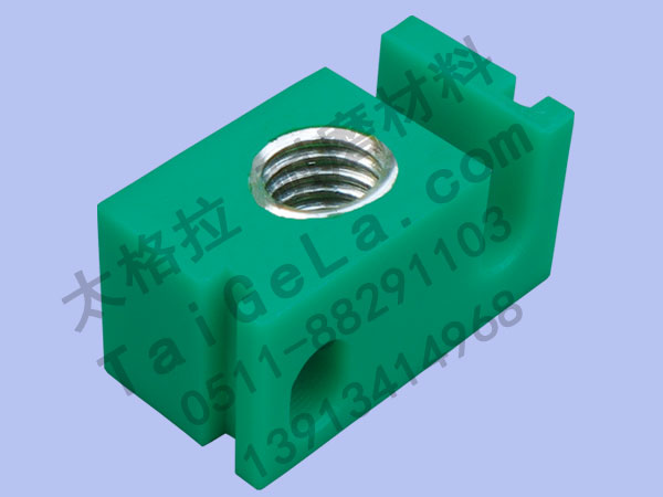 导向块 内嵌钢套 超高分子量聚乙烯,UHMWPE,零件
